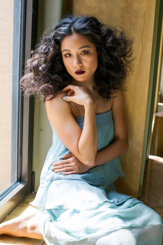 Constance Wu Leggings Pictures