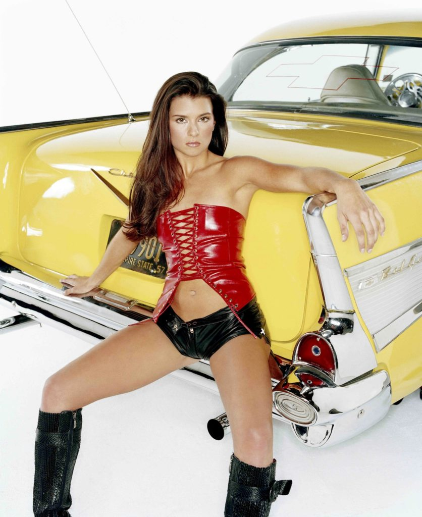 Danica Patrick Braless Photos