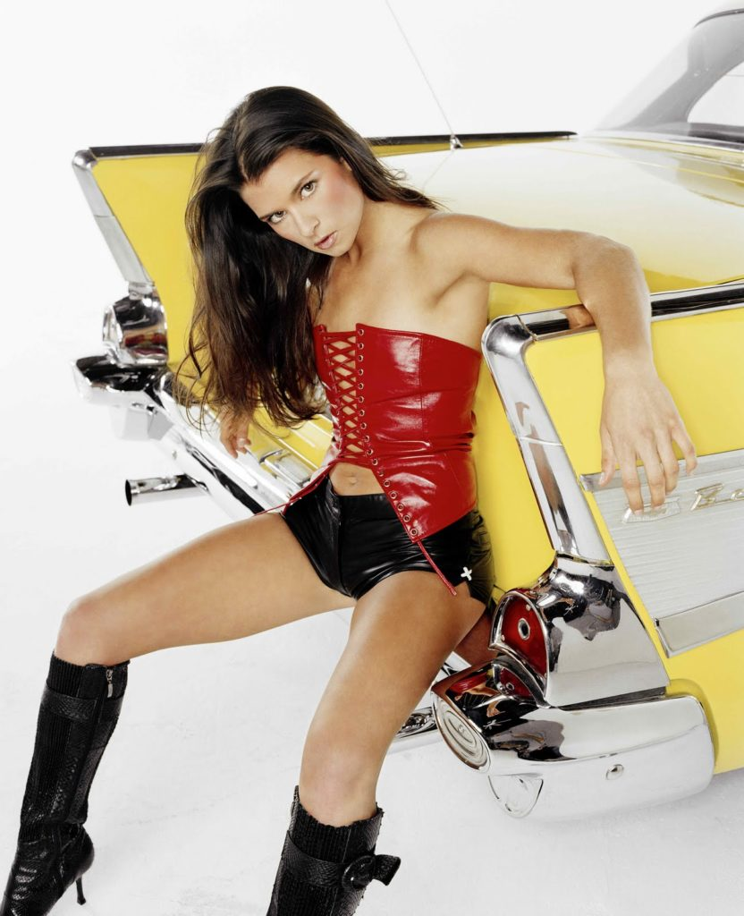 Danica Patrick Working Out Images