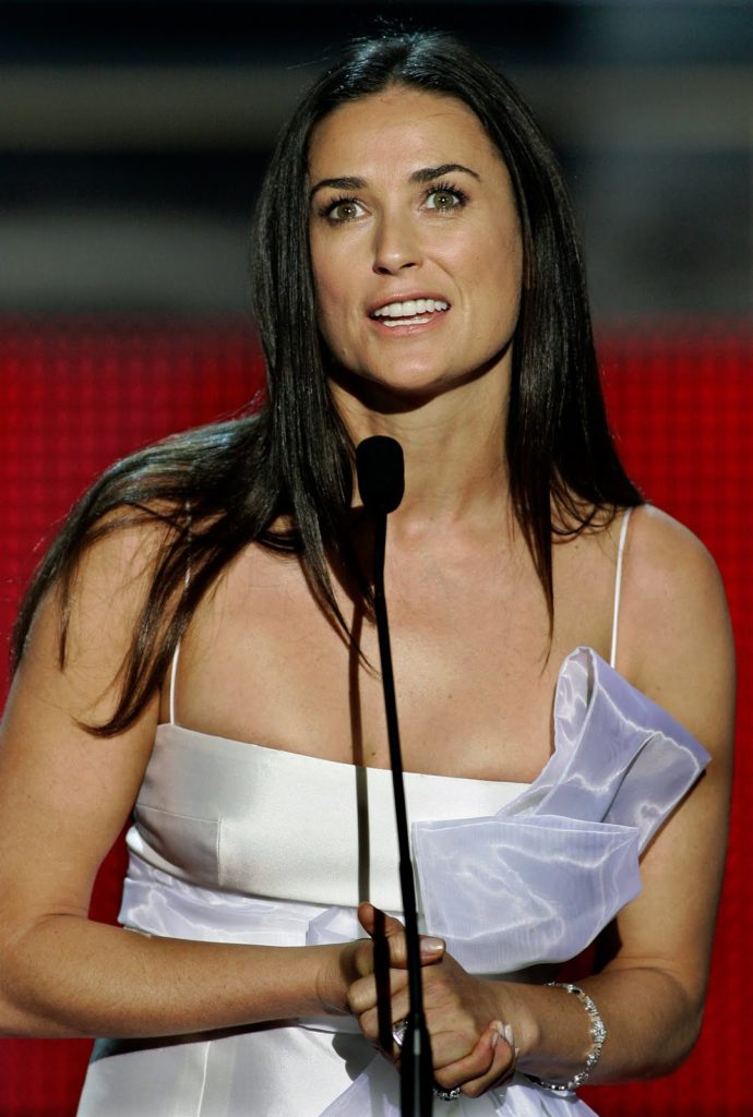 Demi Moore Beach Pictures