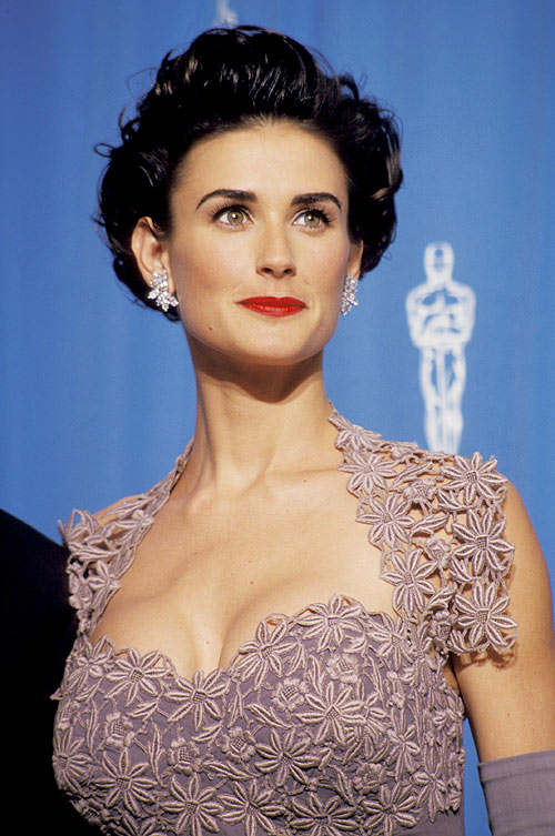 Demi Moore Hair Style Wallpapers