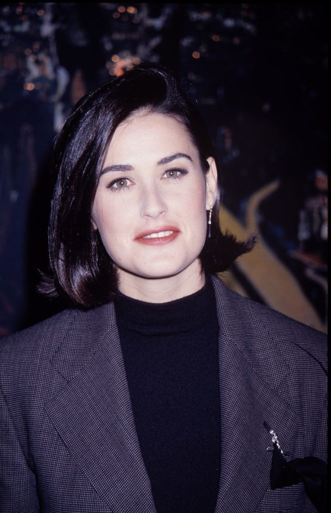 Demi Moore Working Out Photos