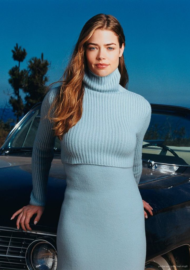 Denise Richards Working Out Photos