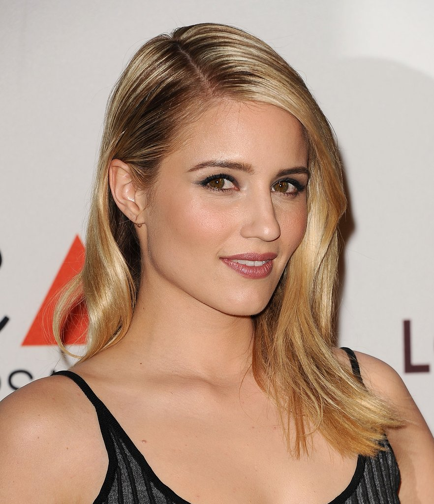 Dianna Agron Braless Wallpapers