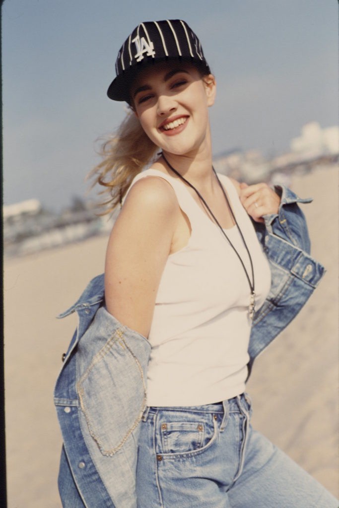 Drew Barrymore Muscles Photos