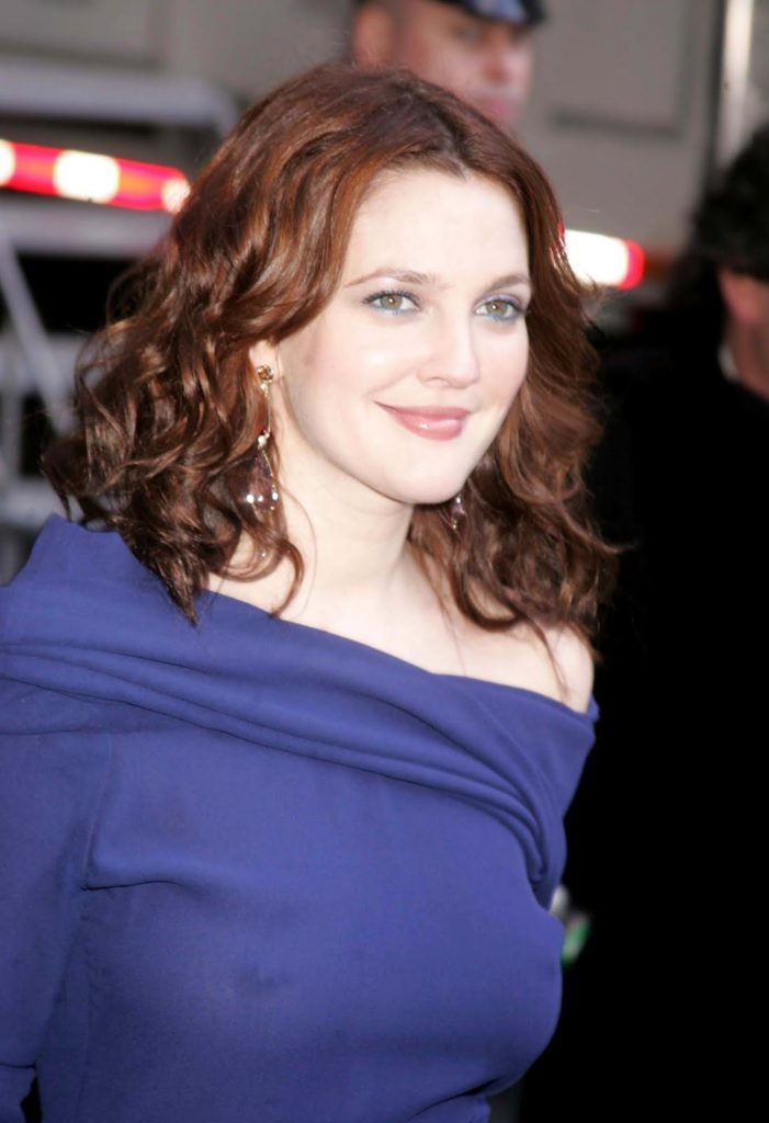 Drew Barrymore Smile Face Pictures