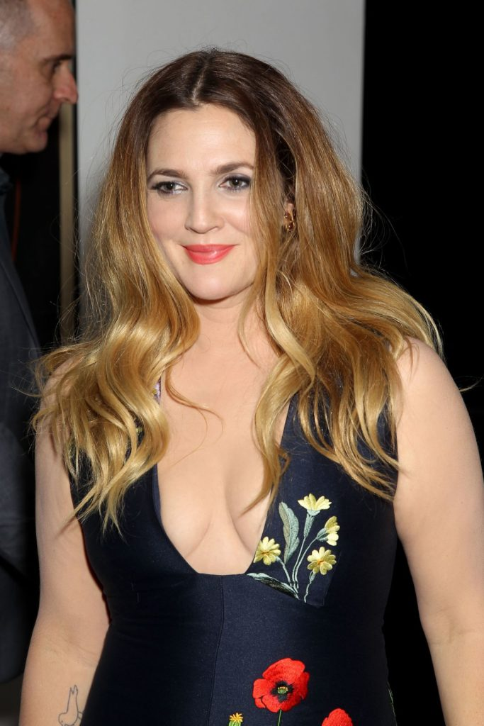 Drew Barrymore Topless Images