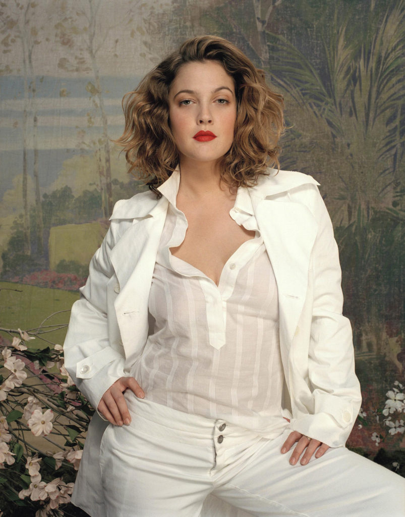Drew Barrymore Working Out Pics