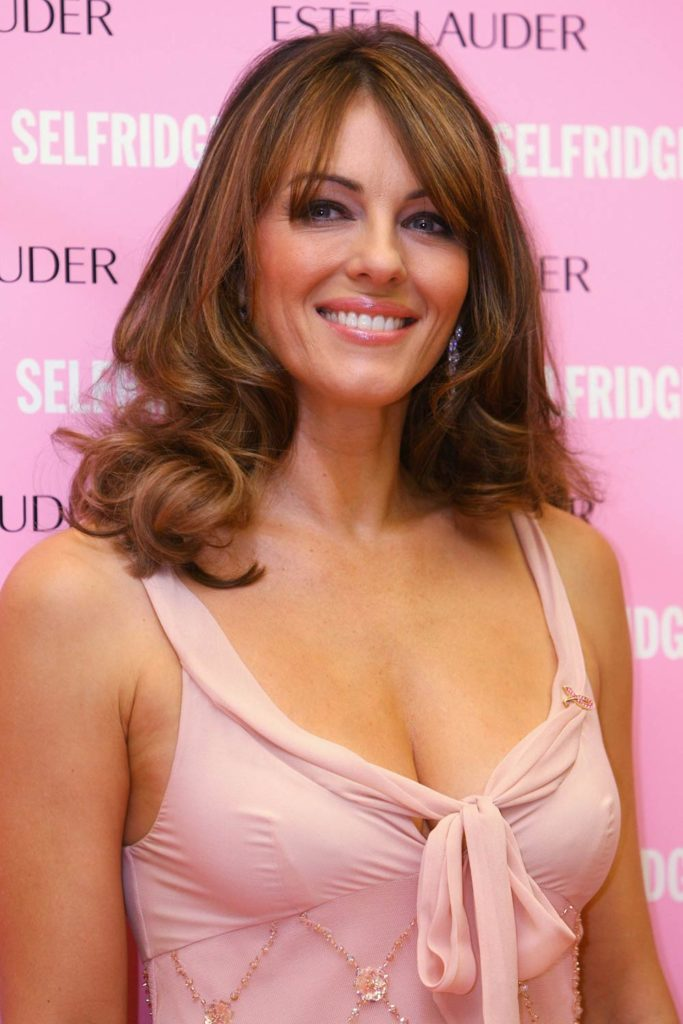 Elizabeth Hurley Smile Face Pictures