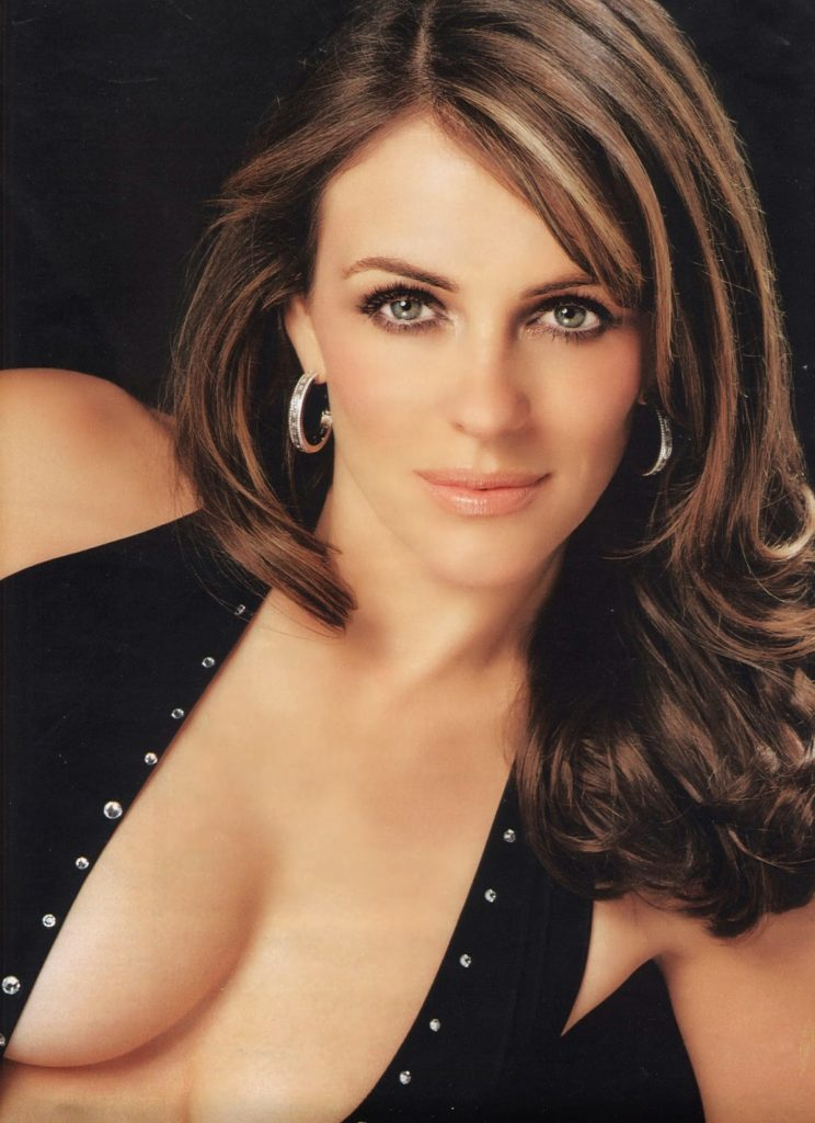 Elizabeth Hurley Without Bra Pics