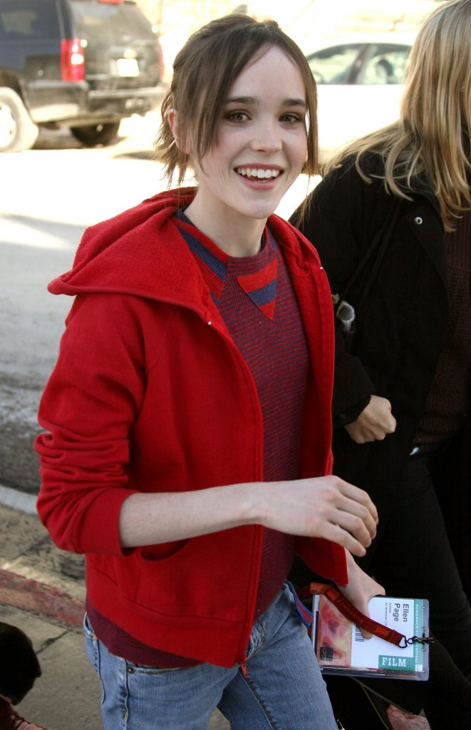 Ellen Page Hair Style Pictures