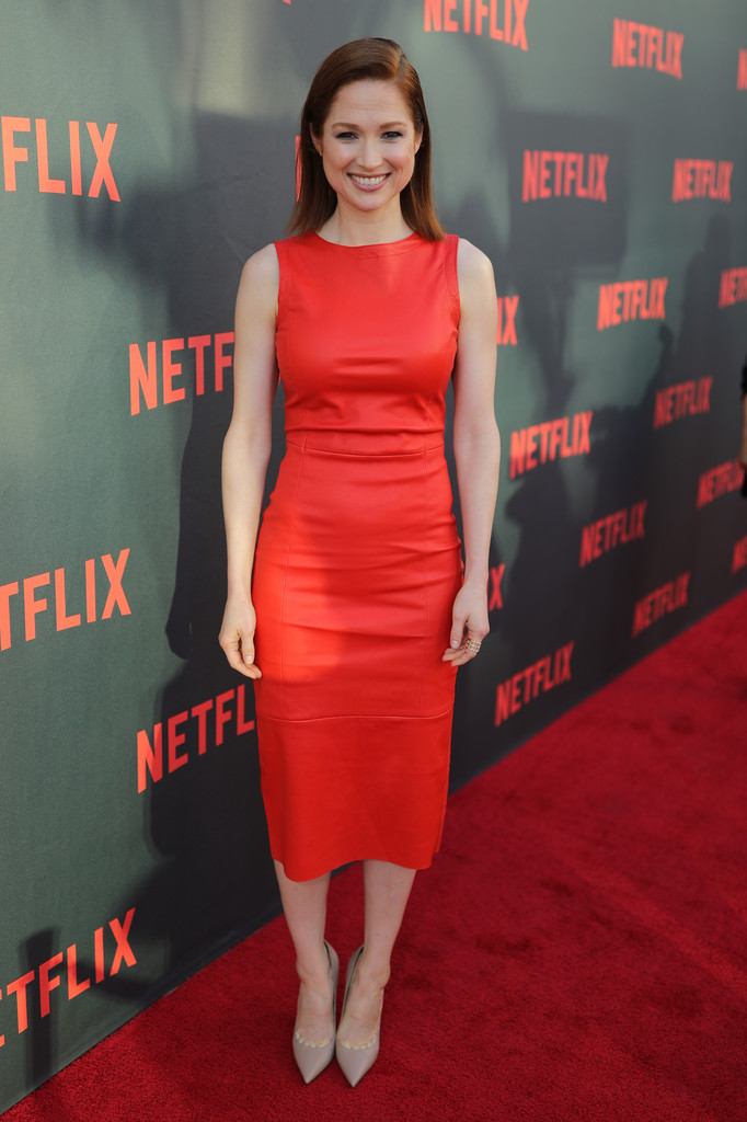 Ellie Kemper Working Out Images