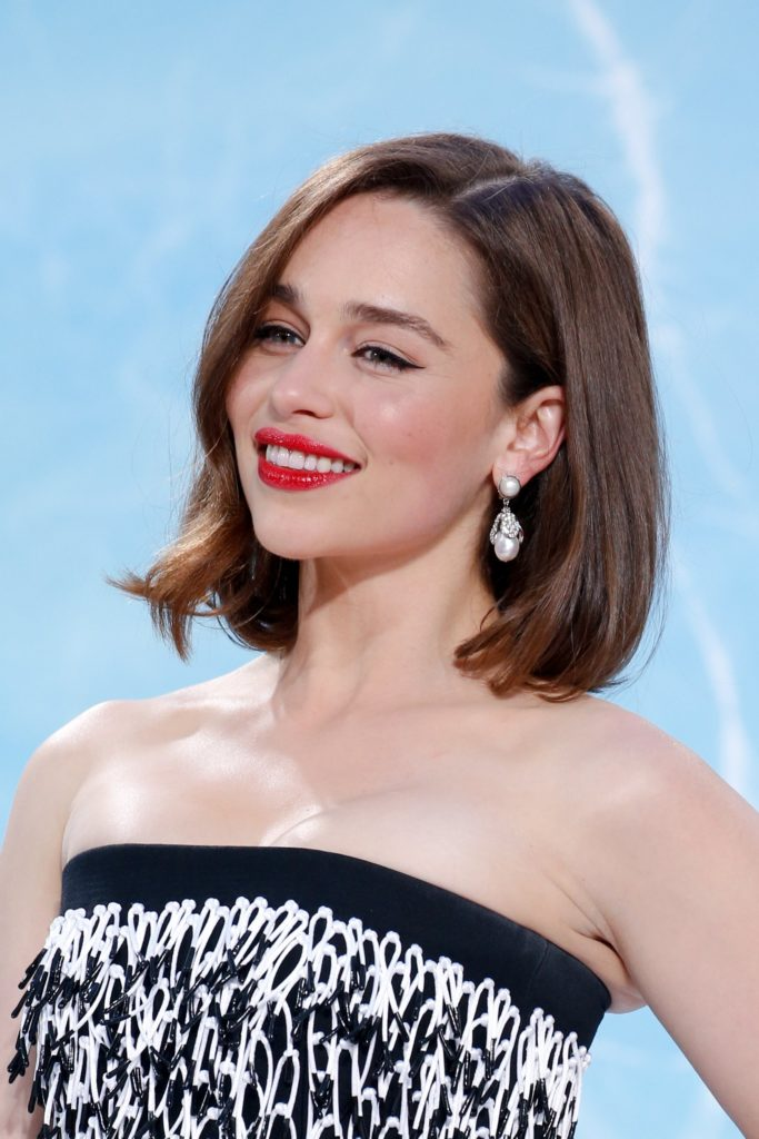 Emilia Clarke Smile Face Photos