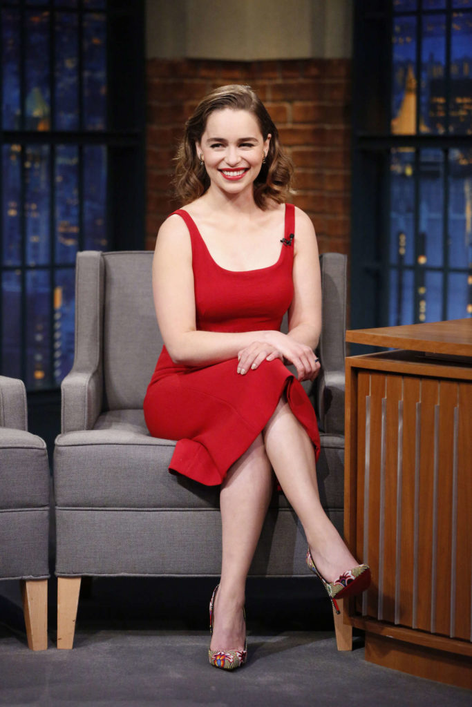 Emilia Clarke Thighs Photos