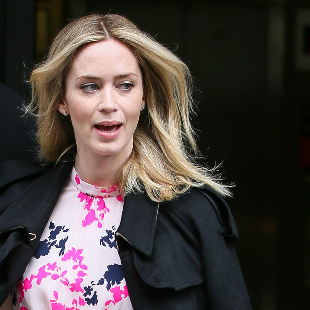 Emily Blunt Hair Style Pics