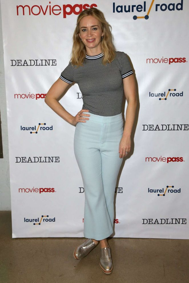 Emily Blunt Jeans Pictures