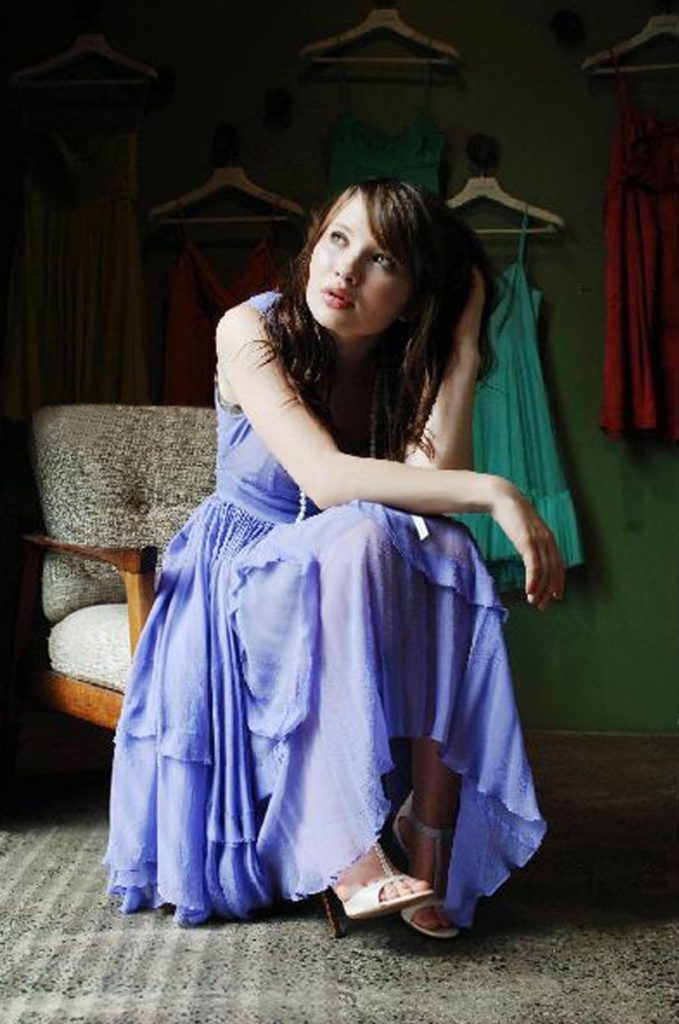Emily Browning Bathing Suit Photos