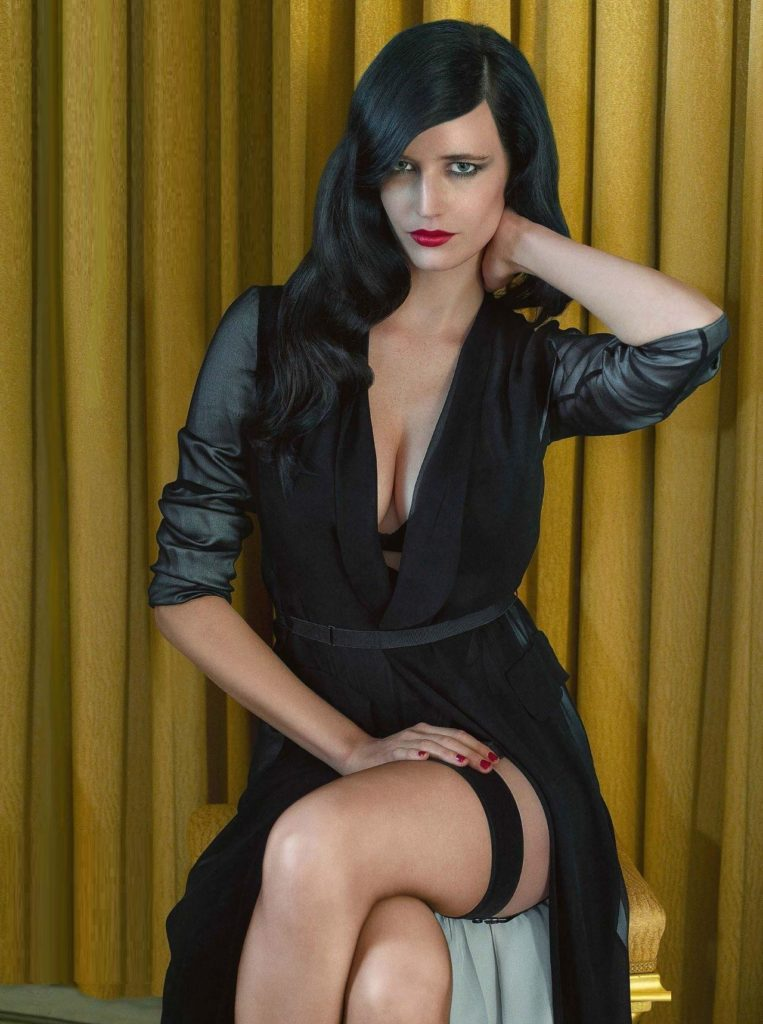 Eva Green Bra Wallpapers
