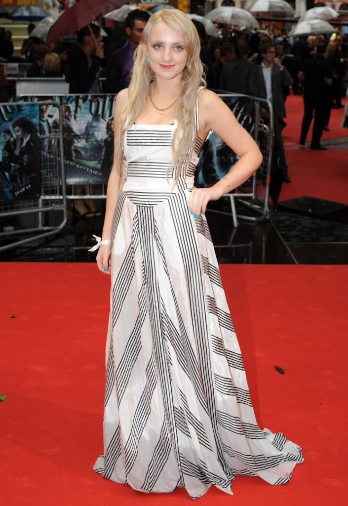 Evanna Lynch Gown Pictures