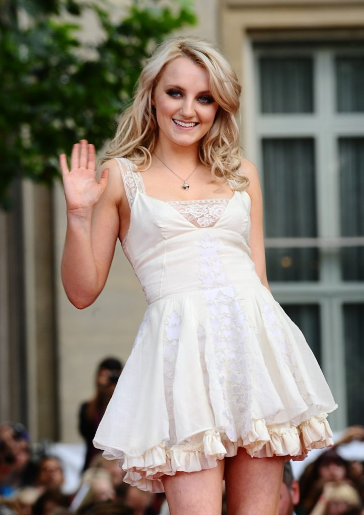 Evanna Lynch Lingerie Pictures
