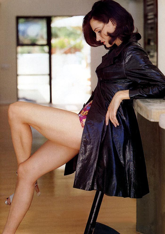 Famke Janssen Bathing Suit Wallpapers