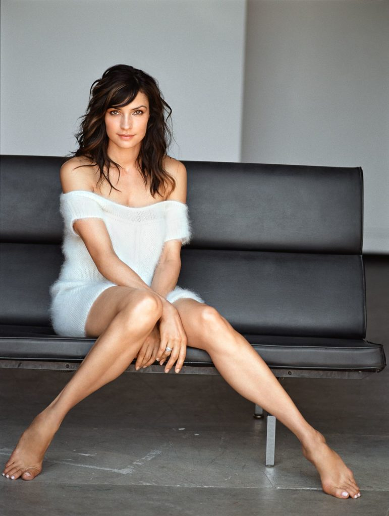 Famke Janssen Bra Panty Wallpapers