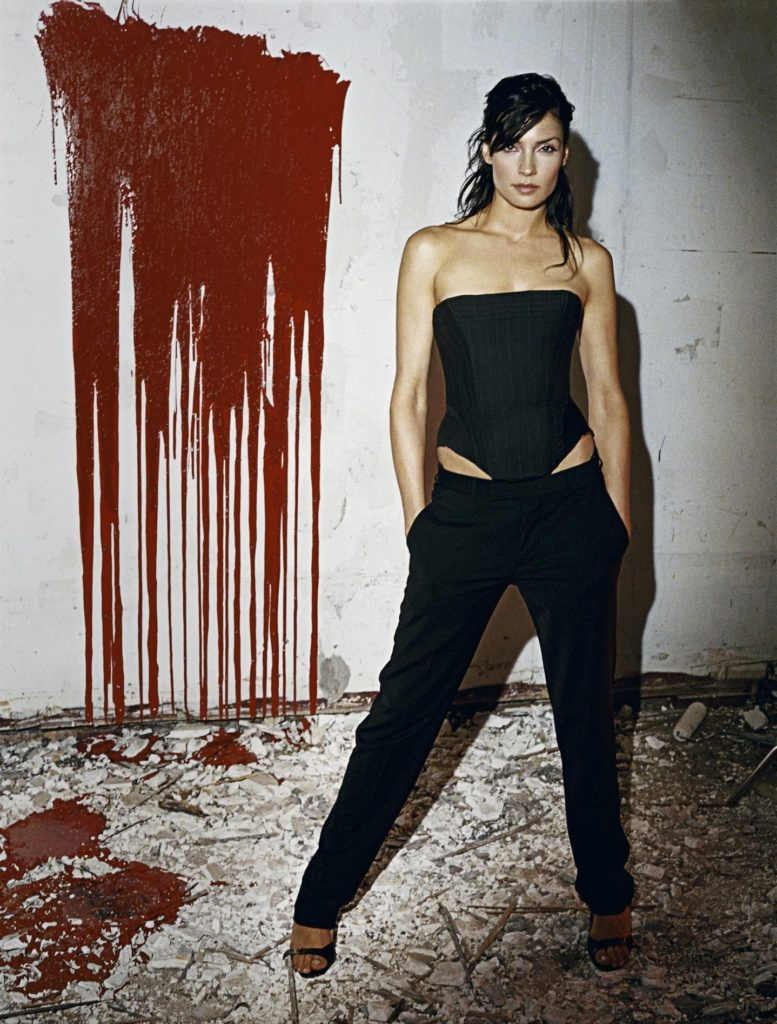 Famke Janssen Leggings Photos