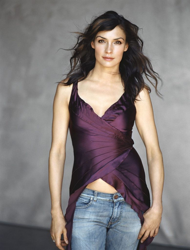 Famke Janssen Smile Face Images