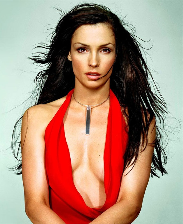 Famke Janssen Topless Wallpapers