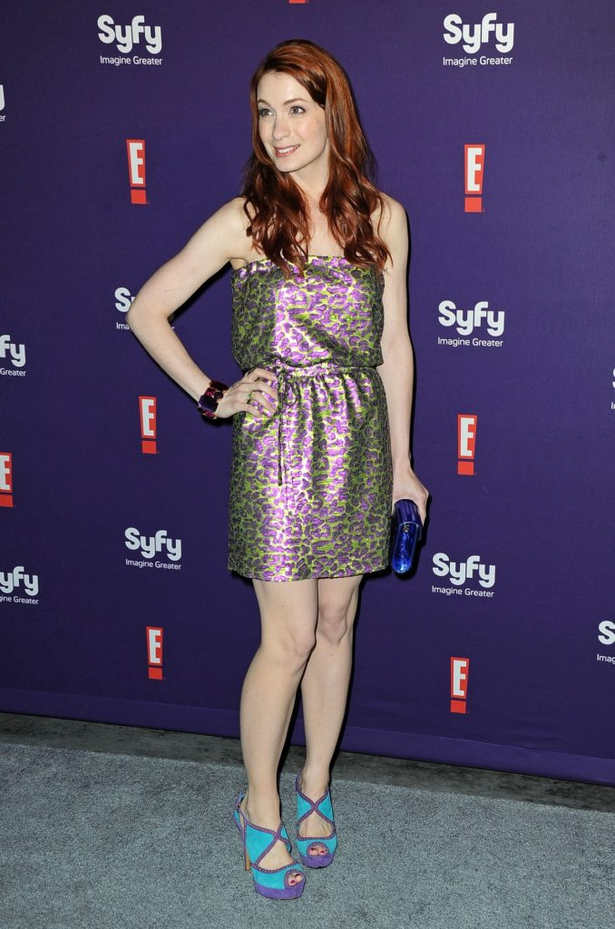 Felicia Day Shorts Wallpapers