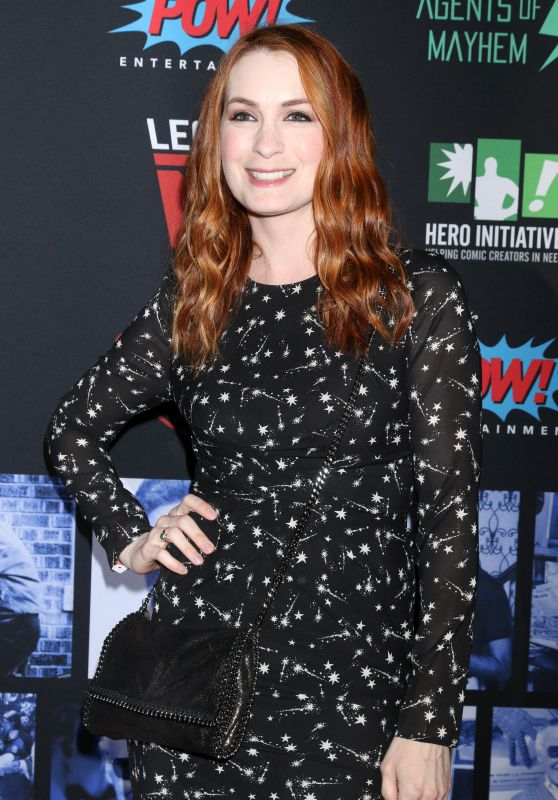 Felicia Day Working Out Pics