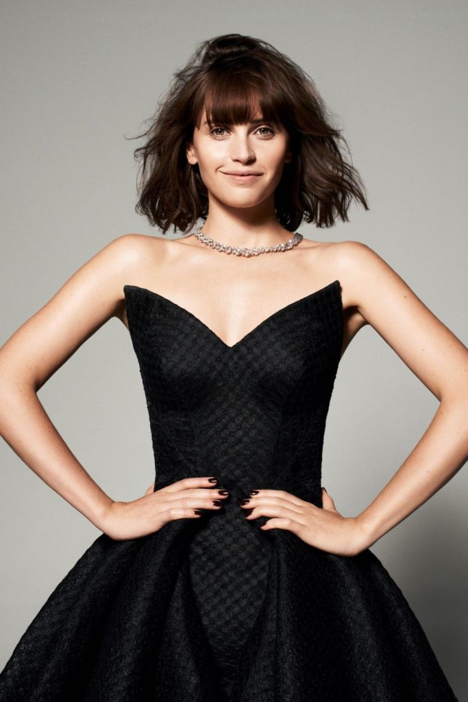 Felicity Jones Haircut Pics