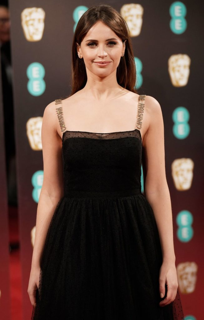 Felicity Jones In Gown Pics
