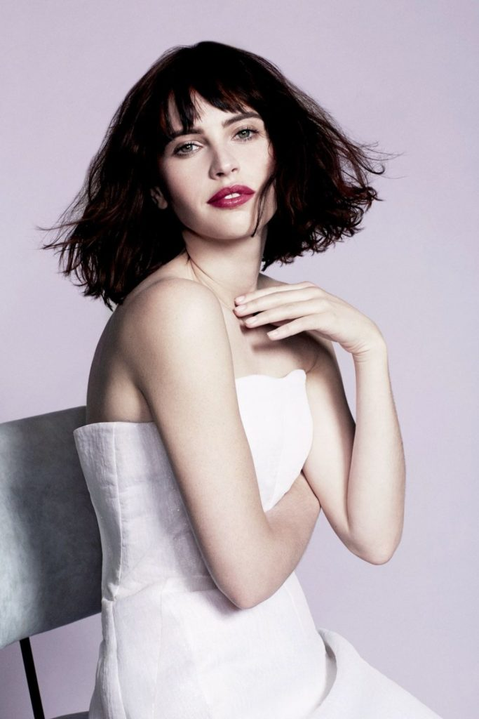 Felicity Jones Smileing Images
