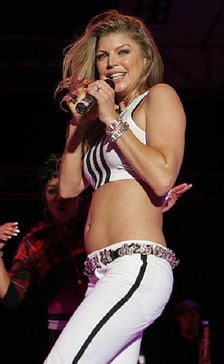 Fergie Bra Photos