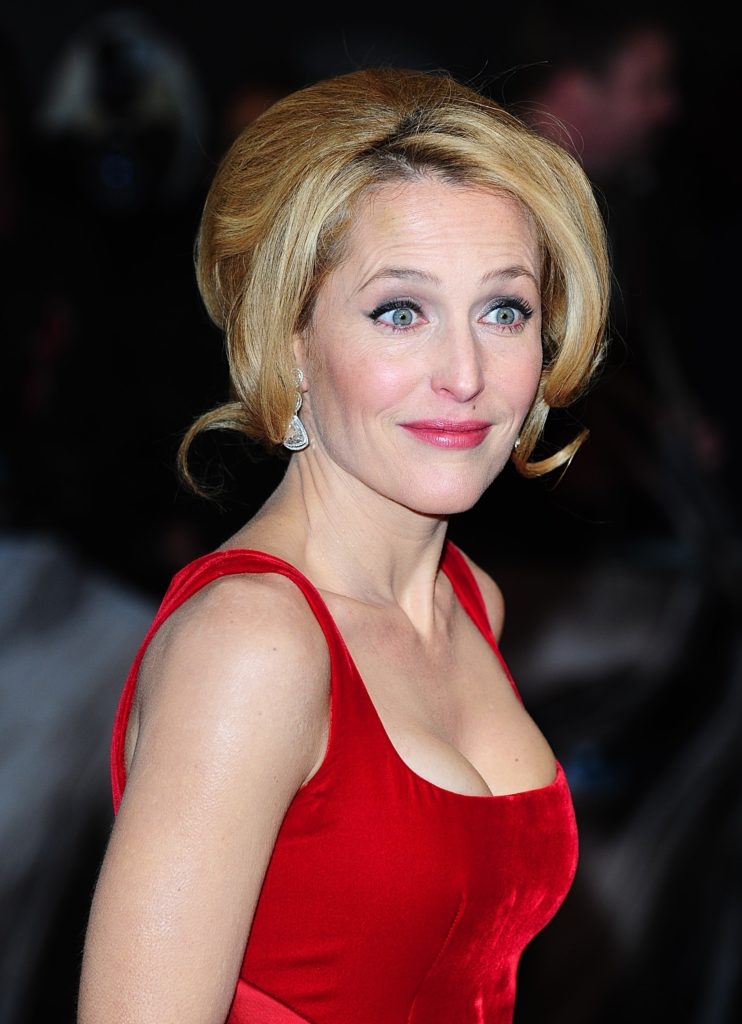 Gillian Anderson Hair Style Images