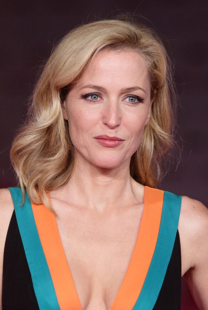 Gillian Anderson Smile Face Pictures