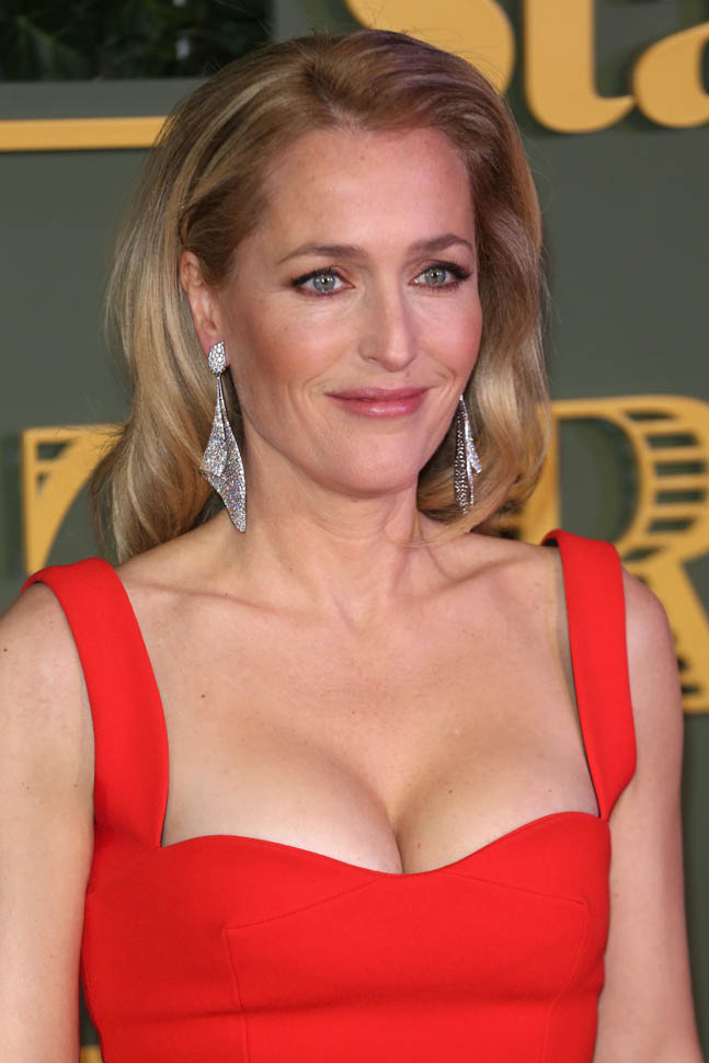 Gillian Anderson Yoga Pants Pictures