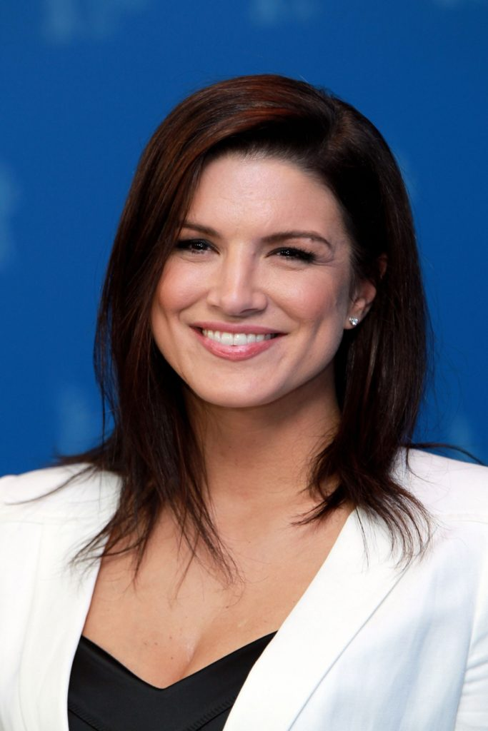 Gina Carano Hair Style Pictures