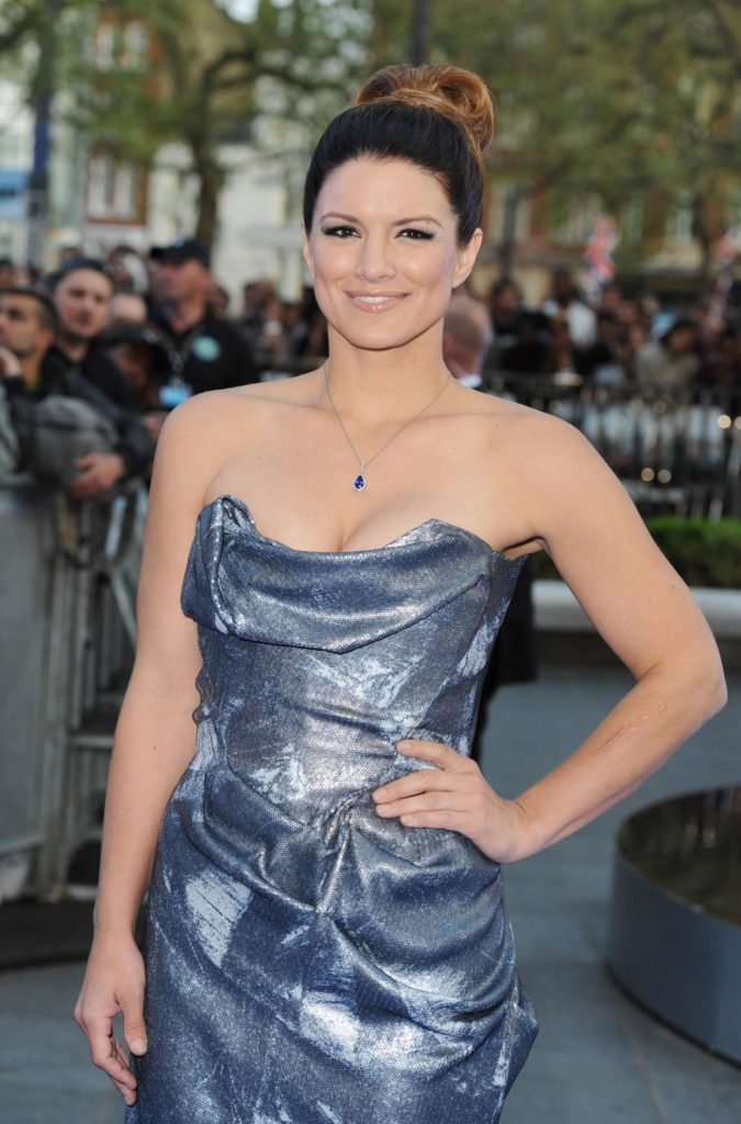 Gina Carano Workout Pictures