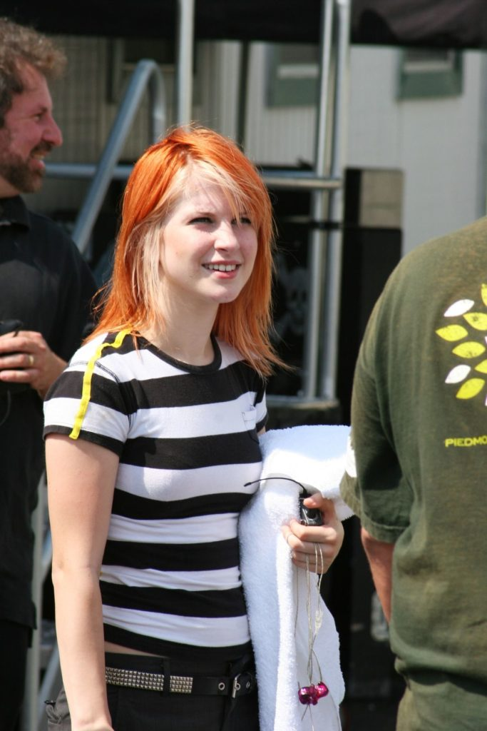 Hayley Williams Hair Style Images