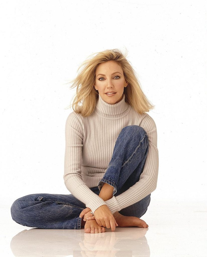 Heather Locklear Working Out Photos