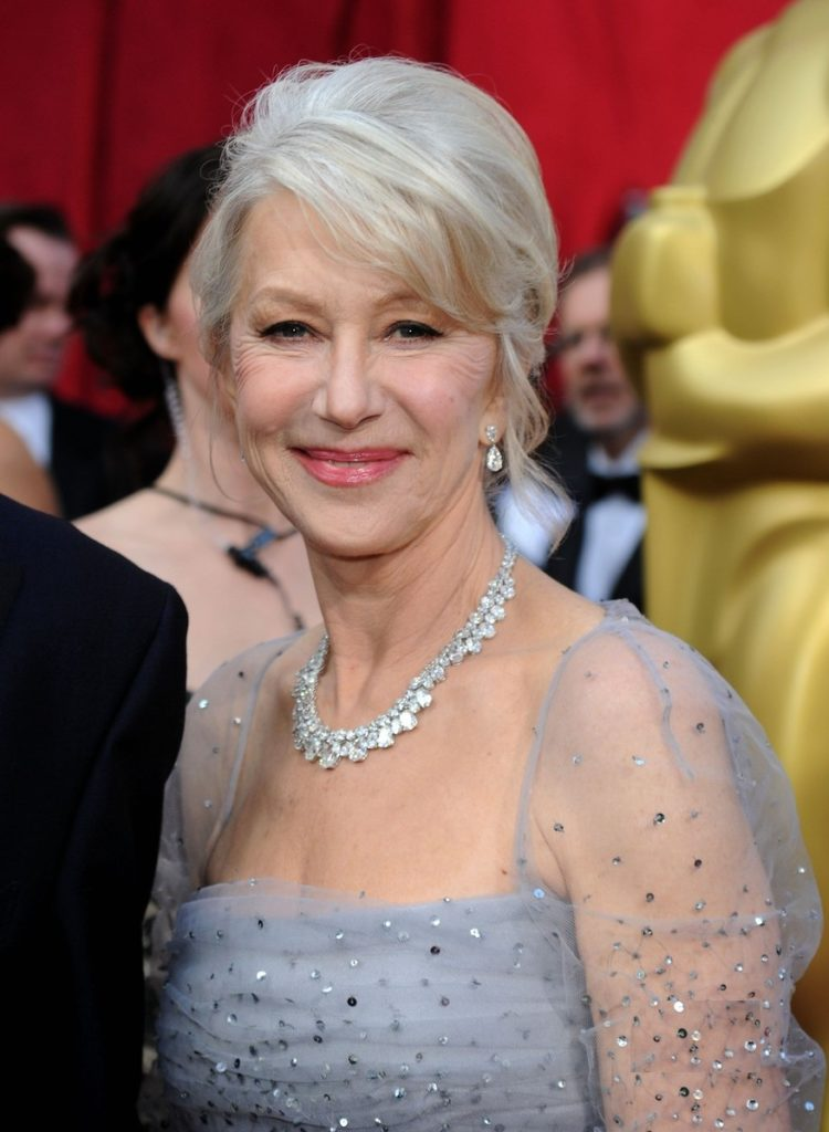 Helen Mirren Haircut Photos