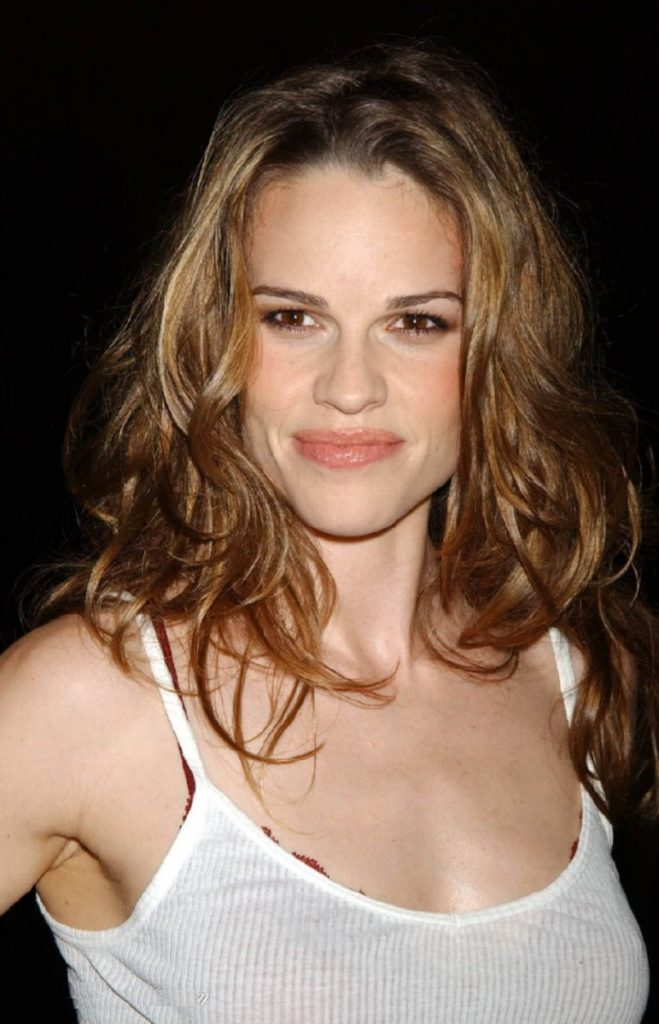 Hilary Swank Braless Pictures