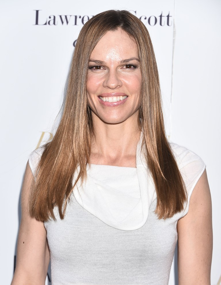 Hilary Swank Smile Face Wallpapers