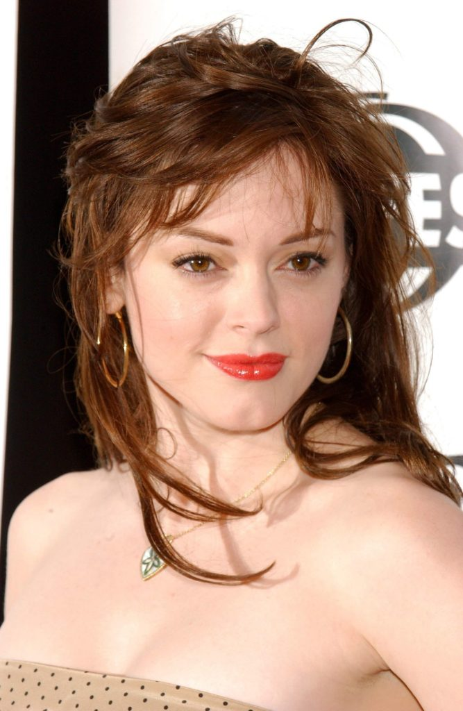 Rose McGowan Cleavage Images