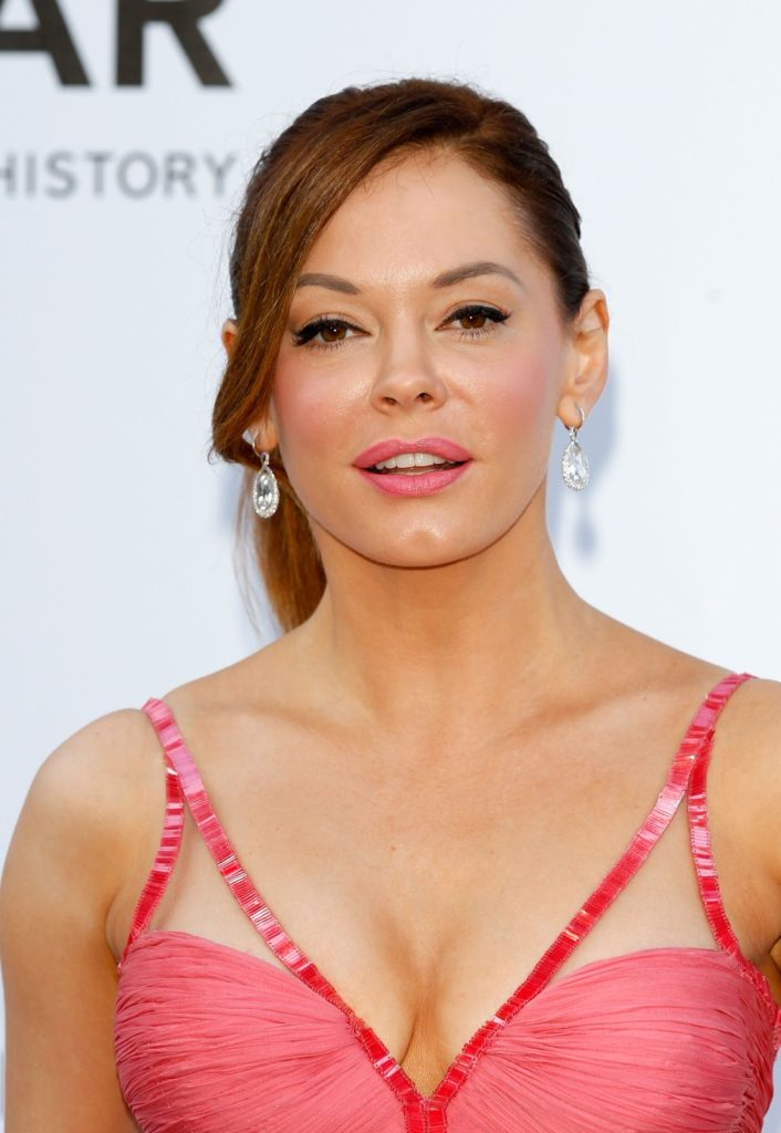 Rose McGowan Smile Face Pictures