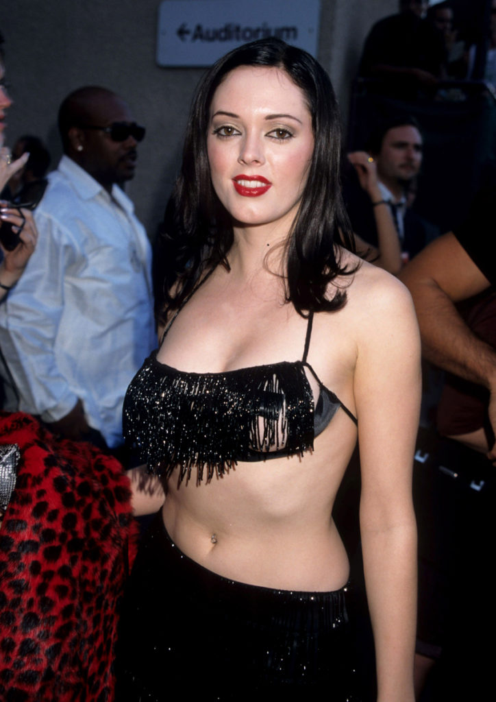 Rose McGowan Without Clothes Pics