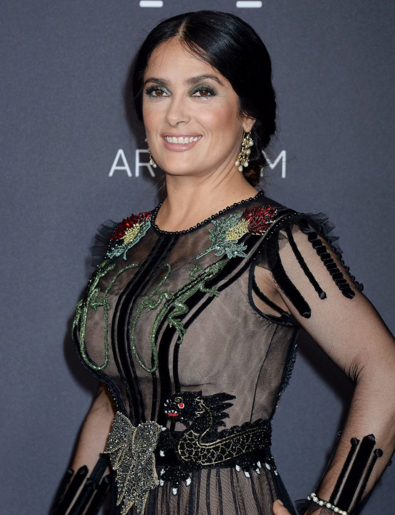 Salma Hayek Hair Style Pictures