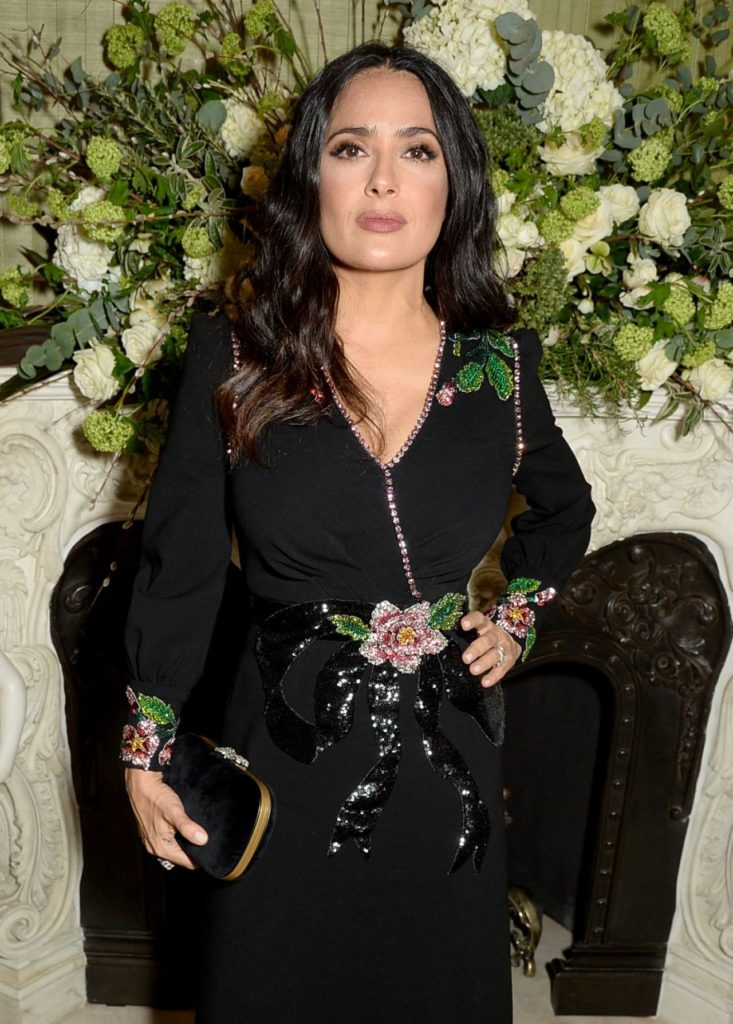 Salma Hayek Long Hair Pictures